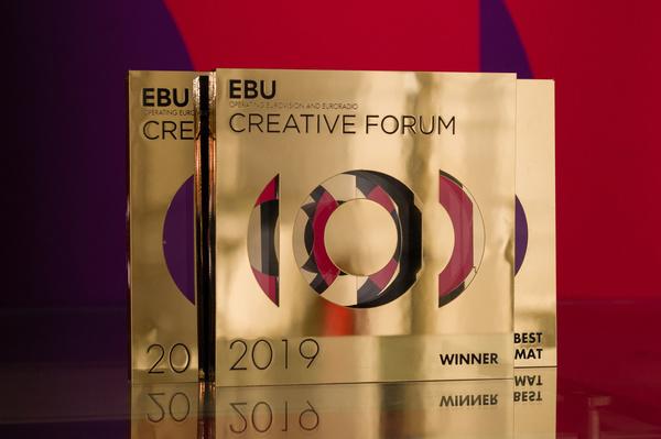 EBU Creative Forum, at the Palazzo Delle Esposizione in Rome, 24 September 2019